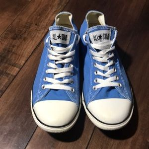 Women's converse blue all star sneakers